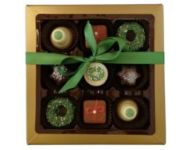 Bonbons geschenkdoos kerst
