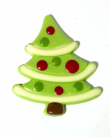 Zakje met kerstboom groen