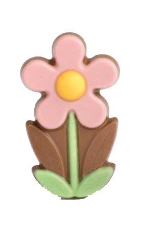 Zakje met flower marie roze