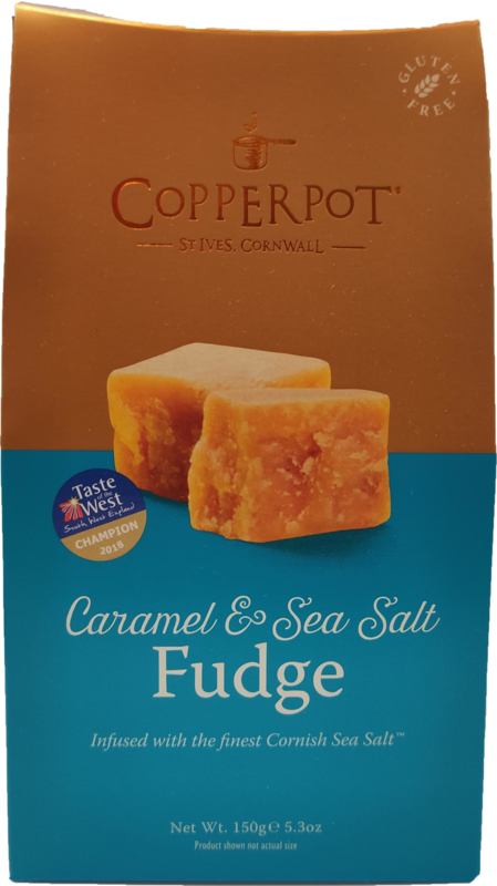 Fudge caramel & sea salt