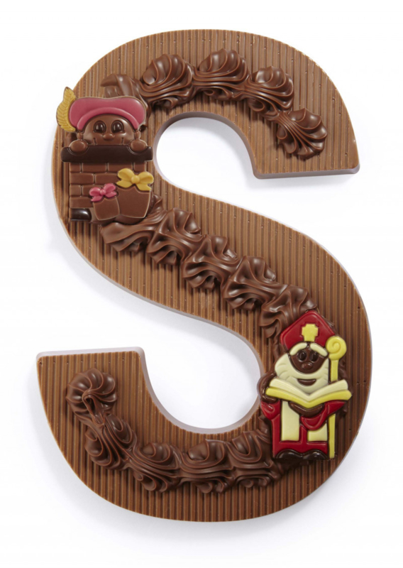 Chocoladeletter XL
