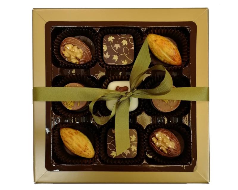 Bonbons geschenkdoos herfst