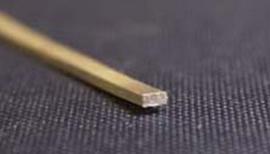 Band, Schenenband Zilver Afmeting: 3 x 1,5 mm Prijs per cm.
