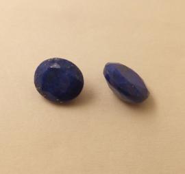 Lapis Lazuli 10 x 8 mm met zetbakje