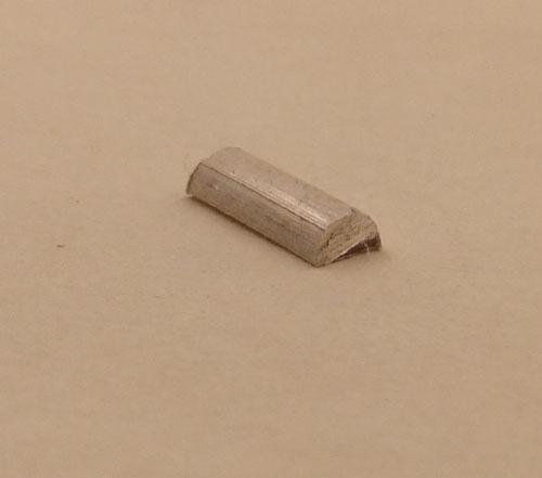 Band, Schenenband  half rond 3 x 2 mm