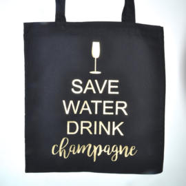 "Tote Bag ""save water"""