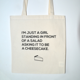 "Tote Bag ""cheesecake"""