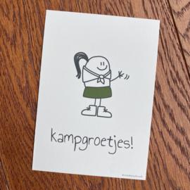 Girly Kampgroetjes (5 st)