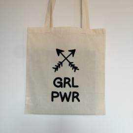 """Tote Bag """"GRL PWR"""""""