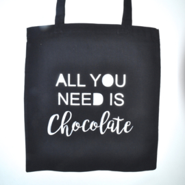 "Tote Bag ""chocolate"""