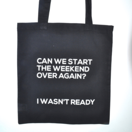"Tote Bag ""weekend"""