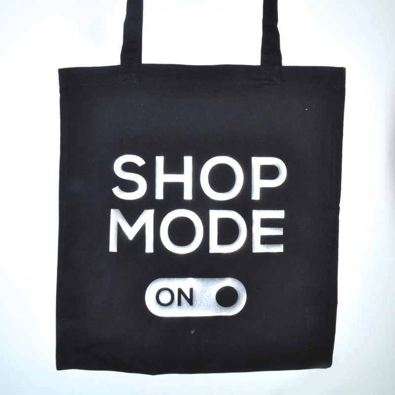 "Tote Bag ""shop mode"""