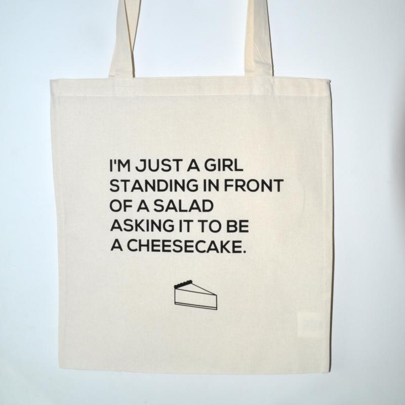 """Tote Bag """"cheesecake"""""""