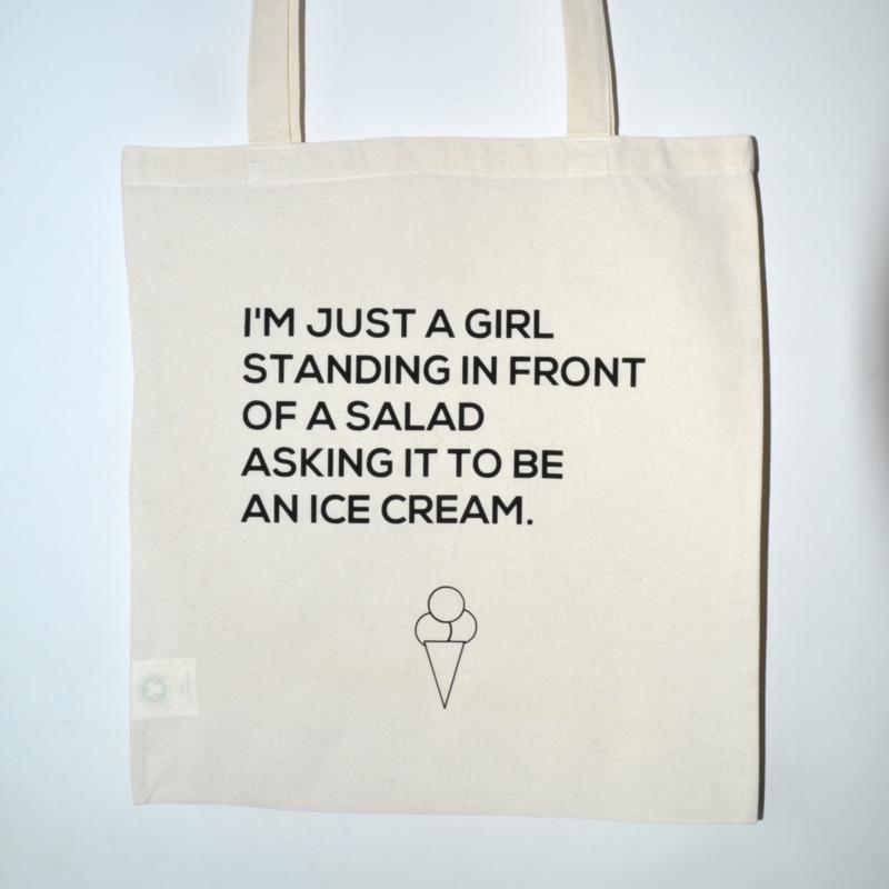 "Tote Bag ""ice cream"""