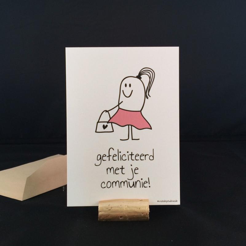 communie meisje