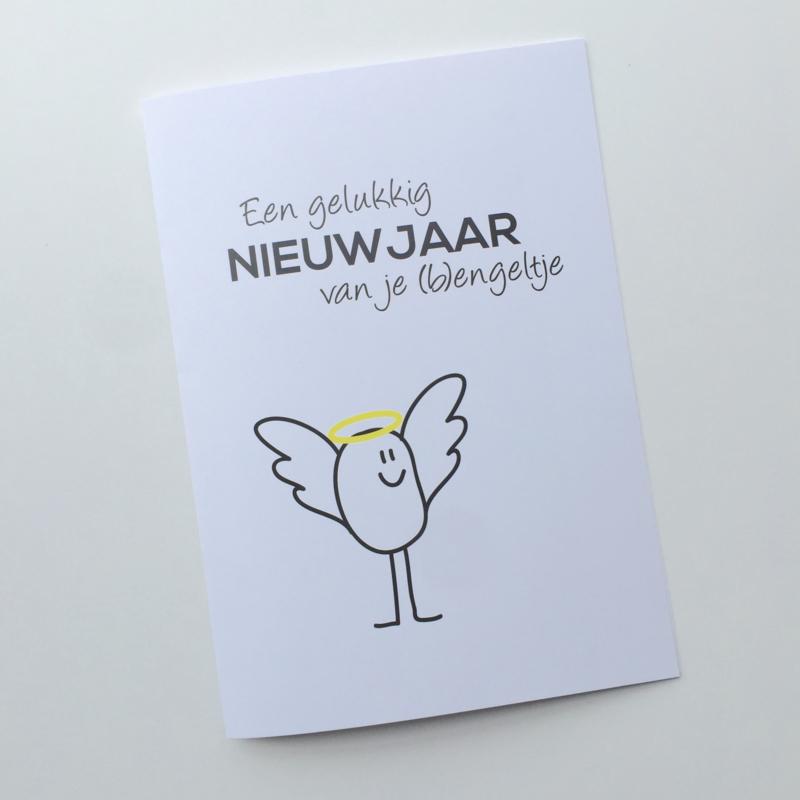 """Nieuwjaarsbrief """"Engeltje"""""""