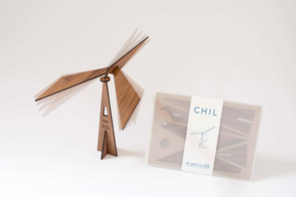 CHIL - meditative mobile - walnut