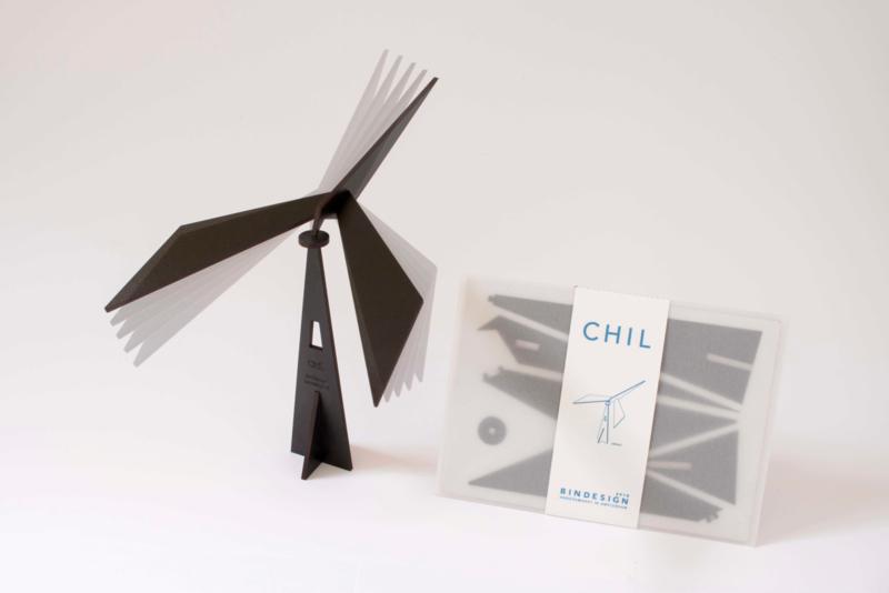 CHIL - meditative mobile - black