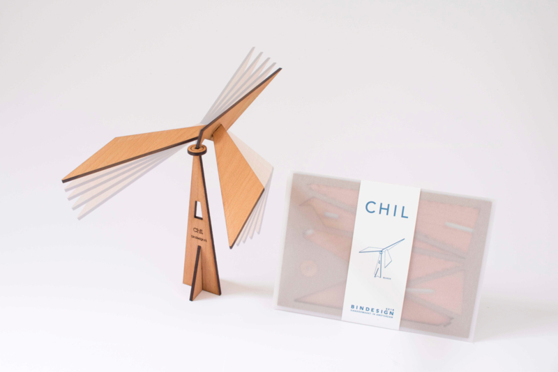 CHIL - meditative mobile - beech