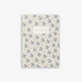 Notebook Floral Sand - Kartotek Copenhagen