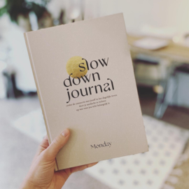 Slow Down Journal - Monday
