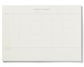Monthly Planner - Kartotek Copenhagen
