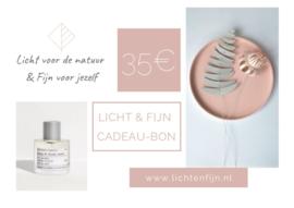 Licht & Fijn Cadeau-bon € 35,00