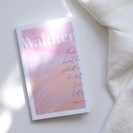 """Gedichtenbundel """"Wakker"""" - Nadia Mennes"""