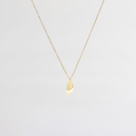 Mini Mussel Necklace Gold - Julia Otilia