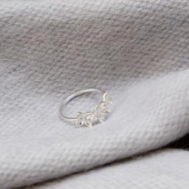 Floret Mist Ring silver - Julia Otilia