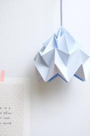 Hanglamp Moth ijsblauw - Studio Snowpuppe