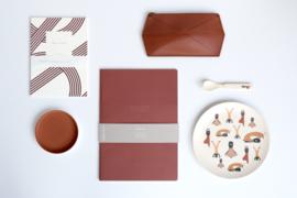 Notebook XL Warmrood - Monk & Anna
