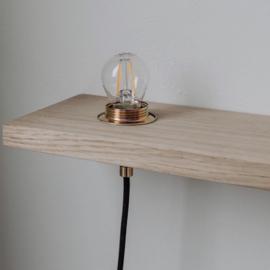 PLAENK wandplank en lamp - Aedam Anthony