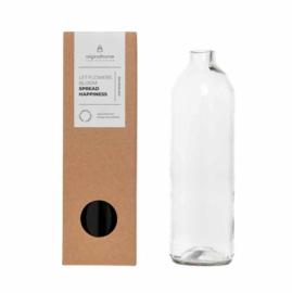 Bottle vase glas - Original Home
