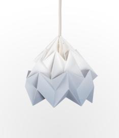 Hanglamp 'Moth' Gradient grey  - Studio Snowpuppe