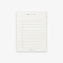 Memo Pad Lines - Kartotek Copenhagen