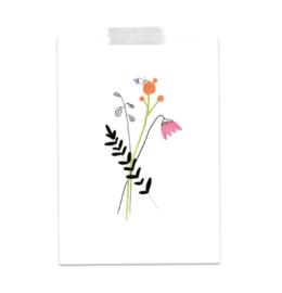 Postkaart Hart Onder de Riem - A Tiny Cheer