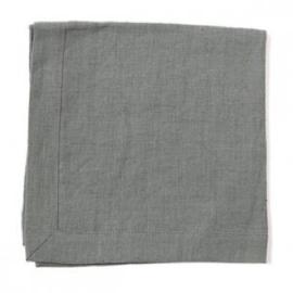 Linnen Servet Silver Grey - Timeless Linen