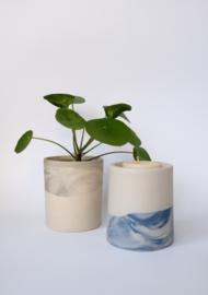 Plantenpot / Kandelaar Blue - Laulabel