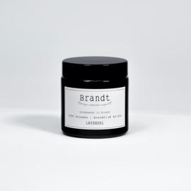Apotheek kaars Lavendel - Brandt Kaarsen