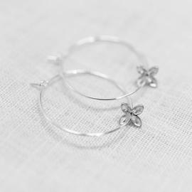 Floret Creoles Silver - Julia Otilia