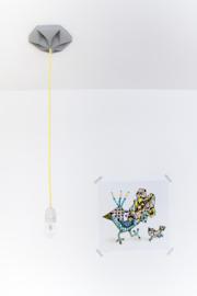 Kroonuppe plafondkapje Wit - Studio Snowpuppe