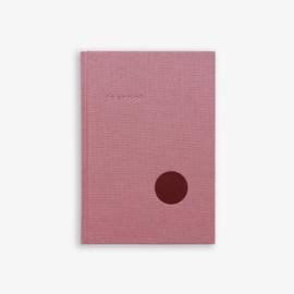 Notebook Journal Dot Red - Kartotek Copenhagen
