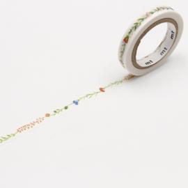Papieren tape Slim Flower Line - MT