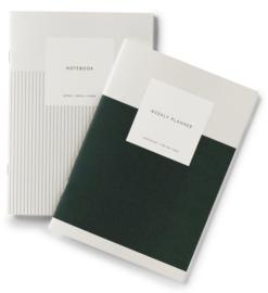 Weekly planner + Notebook - Kartotek Copenhagen