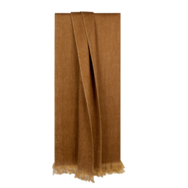 Shawl Fabian Ocher Brown - Bufandy