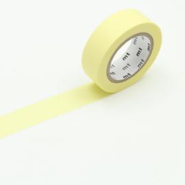 Papieren tape Pastel Lemon - MT