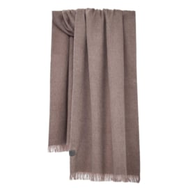 Shawl Brushed Solid Desert Taupe - Bufandy