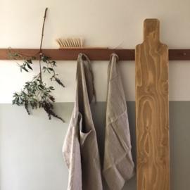 Linnen schort Naturel - Timeless Linen