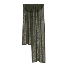 Shawl Knitted Solid Vulcano Ash - Bufandy